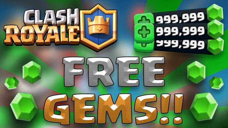 Мод на бесплатные гемы в Clash Royale
