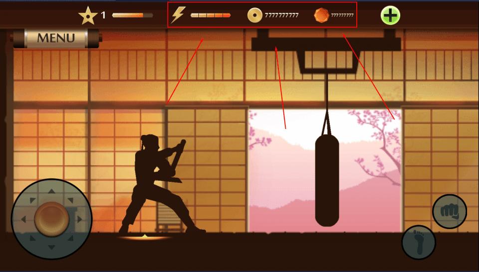 Взломанная версия Shadow Fight 2