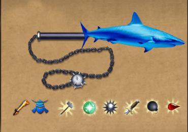 "Мод на ""Кусаригама – Рыба"" в Shadow Fight 2"