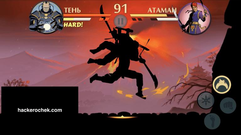 Мод-22Cамые-Сильные-Ножи22-для-Shadow-Fight-2-768x432