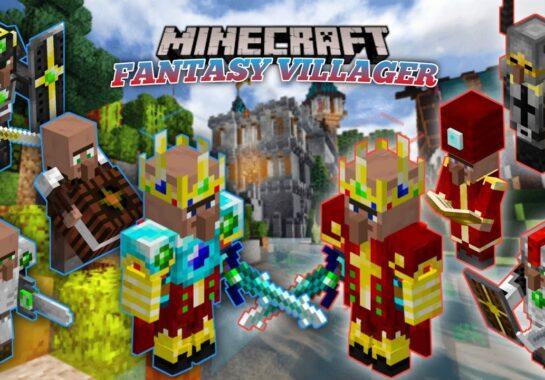Fantasy Villagers Addon-minecraft-pe